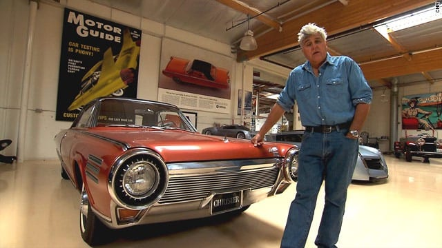 Jay Leno indulges in some automotive archaeology